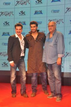 Arjun Kapoor, Boney kapoor And Sanjay kapoor