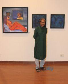 Artist Anjan Sengupta