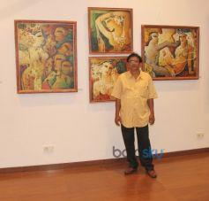 Artist Swapan Kumar