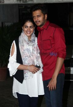 Genelia And Ritesh Deshmukh