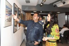 Gul Panag Attends 'The Melted Core' Photo Exhibition Nisheeth Bhatt