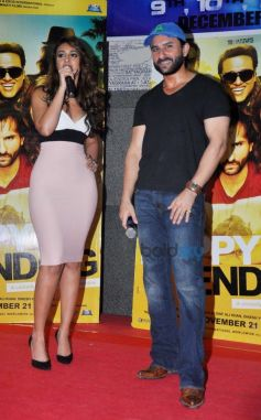 Ileana D'Cruz And Saif Ali Khan