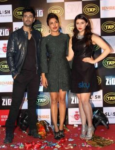 Karanvie Sharma, Priyanka Chopra And Mannara