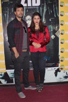 Mannara Chopra And Karanvir Sharma