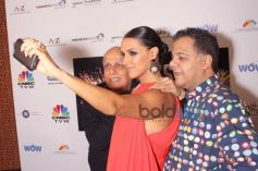Neha Dhupia And Mahesh Bhatt At CEO'S Got Talent