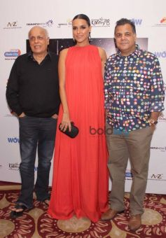 Neha Dhupia And Mahesh Bhatt