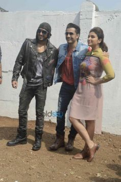 Parineeti Chopra, Ranveer Singh And Ali Zafar
