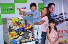 Perizaad Zorabian And Shaina NC Celebrate Children's Day