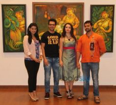 Poonam Preet, Sanjay Gagnani, Gioconda and Mudasir Ali