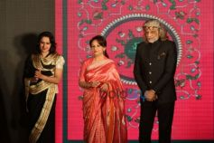 Radhika Raje Gaekwad, Sharmila Tagore And Muzzafar Ali