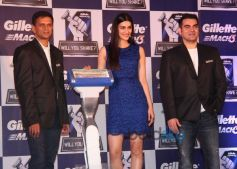 Rahul Dravid, Kriti Sanon And Arbaaz Khan