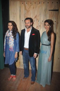 Sonali Bendre, Saif Ali Khan And Ileana D'Cruz