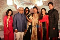 Umang Hutheesingh With The Gaekwad Family Baroda