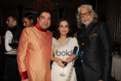 Umang Hutheesingh With Meera And Muzaffar Ali
