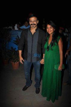 Vivek Oberoi And Priyanka Oberoi