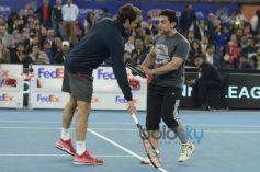 Aamir  Khan, Roger Federer