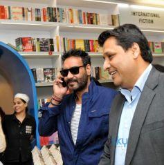 Ajay Devgan And Sanjay Sinha