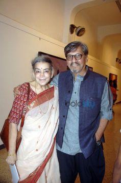 Amol Palekar With Lalita Lajmi