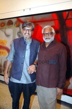 Amol Palekar With Manu Parekh