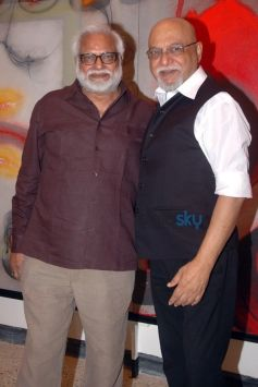 Pritish Nandy With Manu Parekh