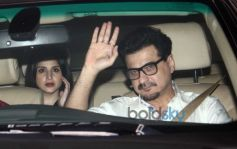 Celebrities Spotted At Karan Johar's House