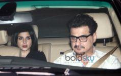 Celebrities Spotted At Karan Johar's House
