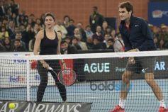 Deepika Padukone And Roger Federer
