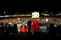 Farah Khan, Abhishek Bachchan And Boman Irani