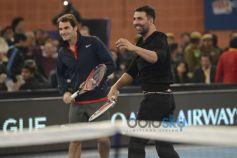 Roger Federer And Akshay Kumar