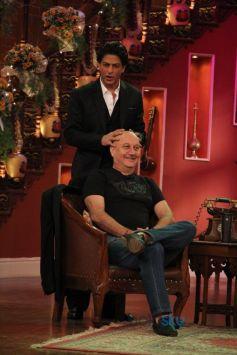 Shahrukh Khan And Anupam Kher