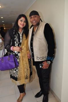 Sivamani And Runa Rizvi