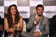 Trailer Launch Of Movie 'Alone'Karan Singh Grover, Bipasha Basu