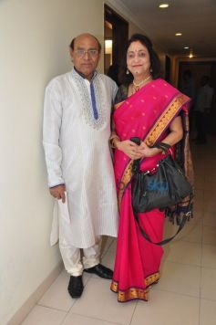 Ustad Rajkumar Rizvi And Wife