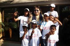 Bappi Lahiri Unveils An Album Of Sensational Band Of Singers Slumstars