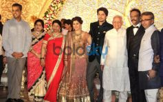 SRK At  Designer Manali Jagtap and Vicky Shoor's Wedding Reception