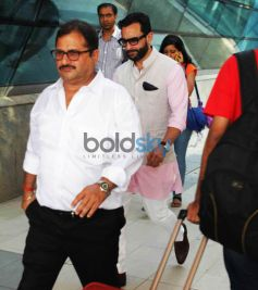 PAPPARAZZI- Saif Ali Khan Snapped At Mumbai Domestic Airport