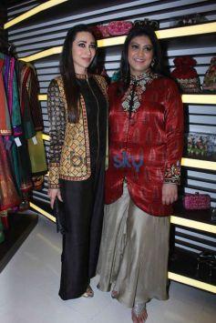 Karisma Kapoor Launches Fashion Designer Anjali Jain's Store