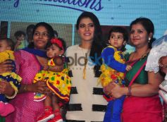 Kajol Launches Huggies, Priceless Moments Mobile Campaign In Mumbai