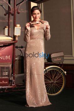 Kareena Kapoor At Launch Of Magnum Ice Cream In New Delhi