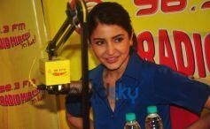 Anushka Sharma  At Radio Mirchi Studio For Promotion Of NH10