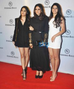 Sridevi At The Launch Of  Italian International Ultra-Luxury Fashion And Lifestyle Brand Stefano Ric