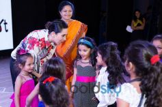 Charismatic Karishma Kapoor Cheers For 'Bright Start Fellowship International School' Kids