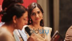 Sonam Kapoor Going Ethnic In A Knee-Length Anarkali For A  Poetry Event