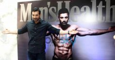 John Abraham Launches Latest Issue Of Men's Fitness
