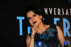Kangana Ranaut At The Launch Of Anupama Chopra Book-The Front Row