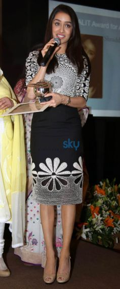 Shraddha Kapoor And Kanika Kapoor  Received Inaugural YFLO Women Achiever Awards In New Delhi