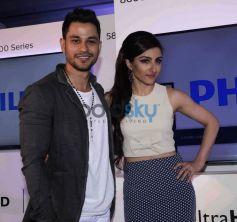 Kunal Khemu,Soha Ali Khan,Rannvijay Singh At Launch Of Latest Philips Tv