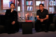 Karan Johar At The Launch Of Ronnie Screwala Book - Dream With Your Eyes Open In New Delhi
