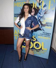 Alia Bhatt Launch The First Edition Of Miss Vogue India
