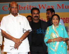 Wax statues of Sharad Pawar, Asha Bhosle unveiled in Mumbai